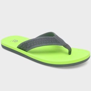 Men's Jeff Flip Flop Sandals - Green